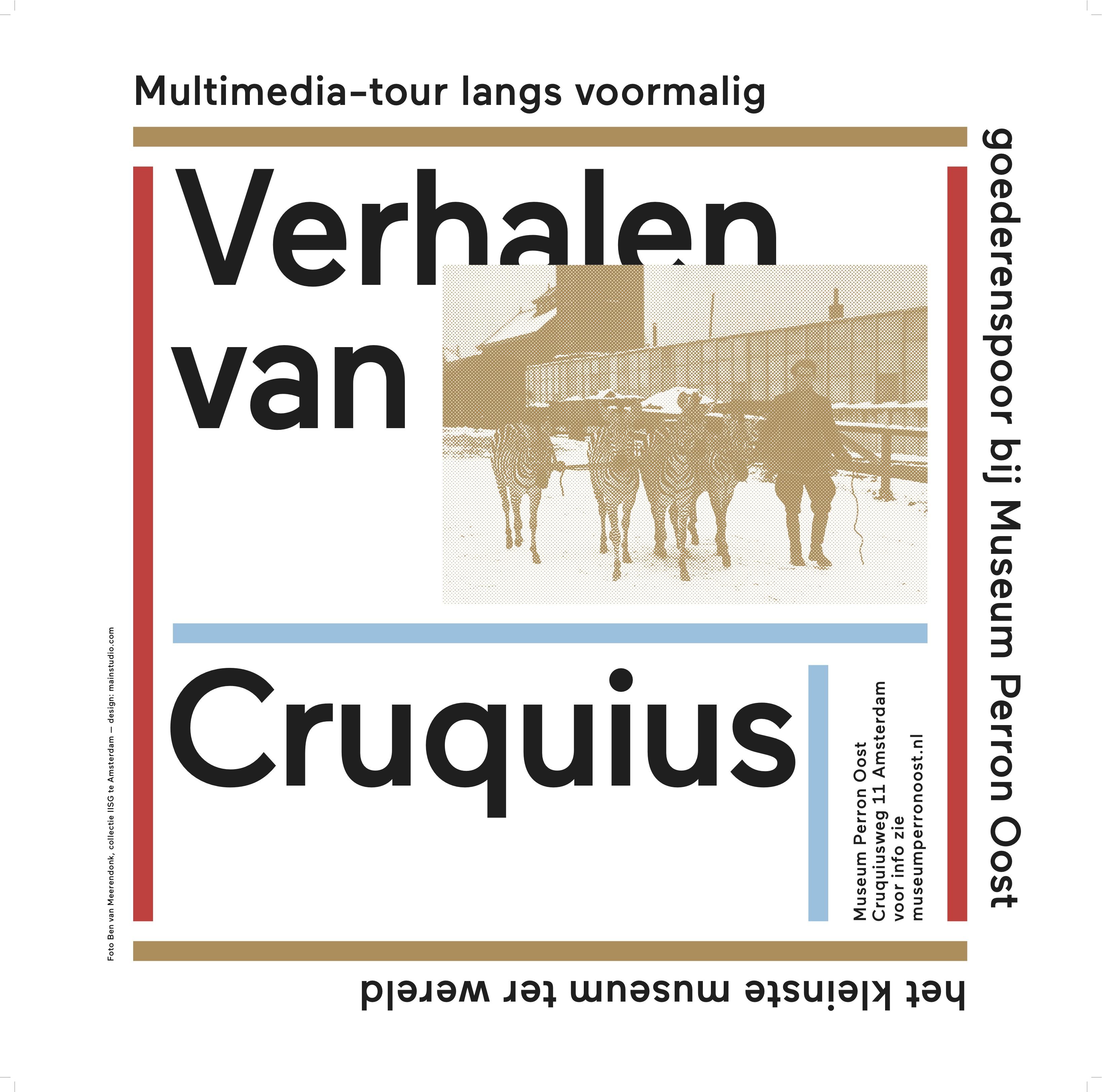 """""""Het Verdwenen Spoor"""": verhalen van Cruquius"""