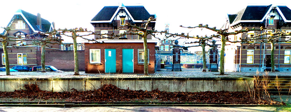 exterieur museum Perron Oost