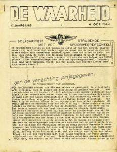 Voorpagina_De Waarheid_1944-10-04