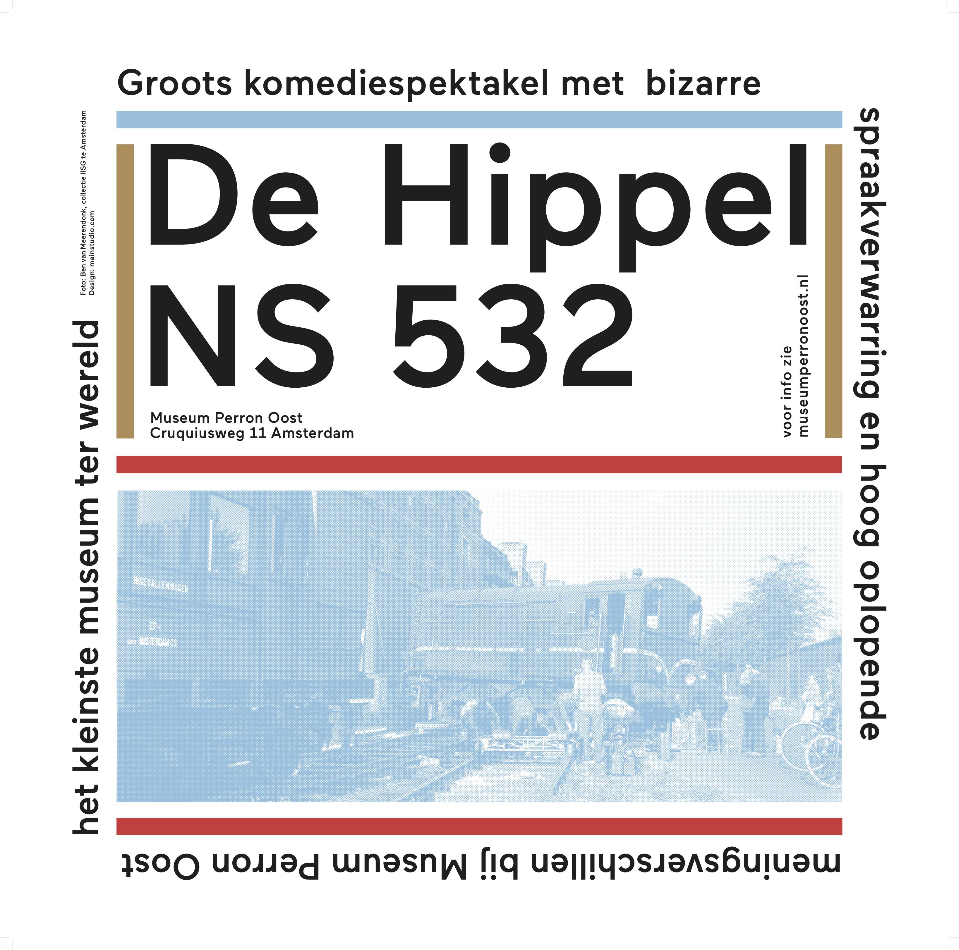 Ontspoord: De Hippel, NS 532