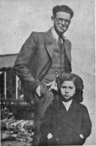 1940 enige foto met mijn vader samen