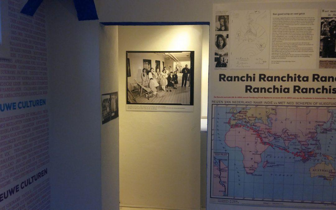 Expositie De Ranchi baby's, lokatie Museum Perron Oost Cruquiusweg 11 Amsterdam, nog tot eind maart 2020 te zien